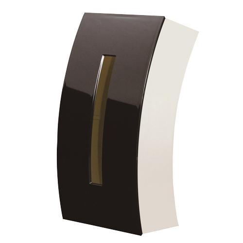 ついに入荷 プラスチック製 ボックスティッシュ用ケース ティッシュ チリ紙 ちりかみ ちりがみ 日用品 ティッシュケース ブラック 豊富な品 雑貨 ティッシュケースBow 生活雑貨 ボックス用