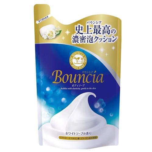 バウンシア史上最高の濃密泡クッション 牛乳石鹸 バウンシア 詰替用 定番キャンバス ボディソープ 超美品再入荷品質至上 400ml