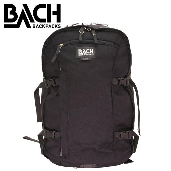 BACH バッハ BIKE2B バイクツービー 30L ブラック 129411 バックパック リュックサック 【送料無料(一部地域除く)】