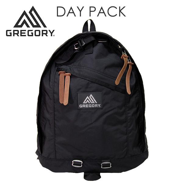 GREGORY グレゴリー DAY PACK デイパック 26L ブラック バックパック 65169 リュックサック 【送料無料(一部地域除く)】