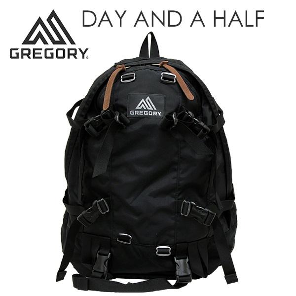 GREGORY グレゴリー DAY AND A HALF デイアンドハーフ 33L ブラック バックパック 65150 リュックサック 【送料無料(一部地域除く)】