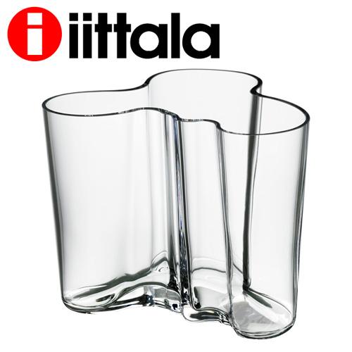 無料ラッピング対象 北欧食器 イッタラ 記念日 iittala アルヴァアールト バーゲンセール Alvar Aalto ベース 120mm 一部地域除く 送料無料 クリア 花瓶 アルヴァアアルト