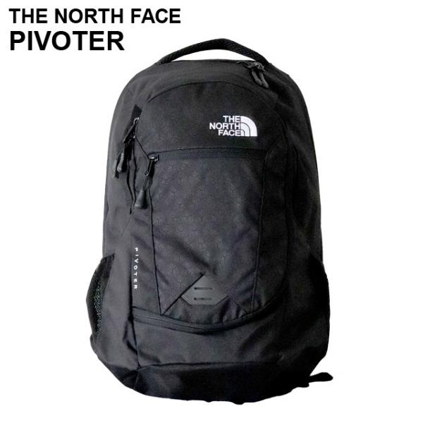 THE NORTH FACE ザ・ノースフェイス PIVOTER ピボター 26L ブラック バックパック 【送料無料(一部地域除く)】