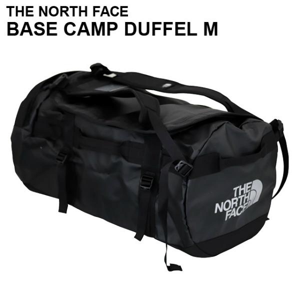 THE NORTH FACE ザ・ノースフェイス BASE CAMP DUFFEL M ベースキャンプダッフル 71L ブラック ボストンバッグ ダッフルバッグ バックパック 【送料無料(一部地域除く)】