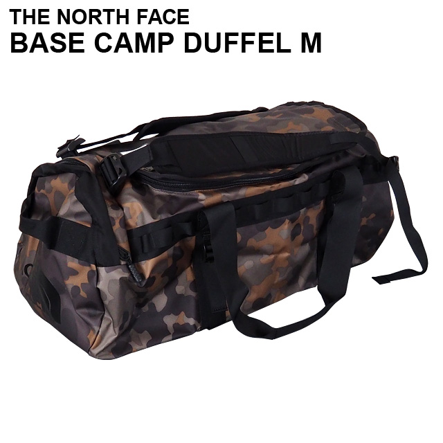 THE NORTH FACE ザ・ノースフェイス BASE CAMP DUFFEL M ベースキャンプ ダッフル 71L ニュートープグリーンマクロフレックカモプリント ボストンバッグ ダッフルバッグ バックパック【送料無料(一部地域除く)】