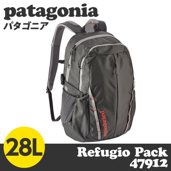 Patagonia パタゴニア 47912 レフュジオパック 28L フォージグレー Refugio Pack Forge Grey FGE 【送料無料(一部地域除く)】