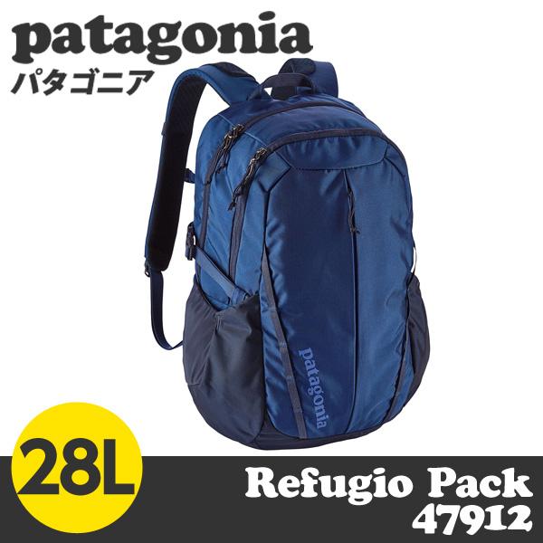 Patagonia パタゴニア 47912 レフュジオパック 28L ネイビーブルー Refugio Pack Navy Blue NVYB 【送料無料(一部地域除く)】