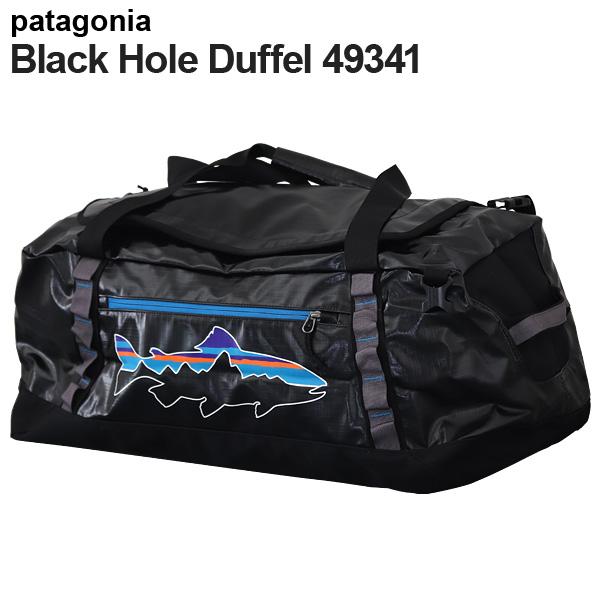 Patagonia パタゴニア 49341 ブラックホールダッフル 60L ブラック/フィッツトラウト Black Hole Duffel 【送料無料(一部地域除く)】