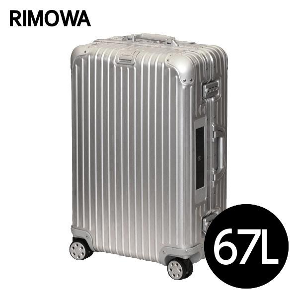 リモワ RIMOWAトパーズ 67L シルバー E-Tag TOPAS ELECTRONIC TAGマルチホイール スーツケース 924.63.00.5【送料無料(一部地域除く)】