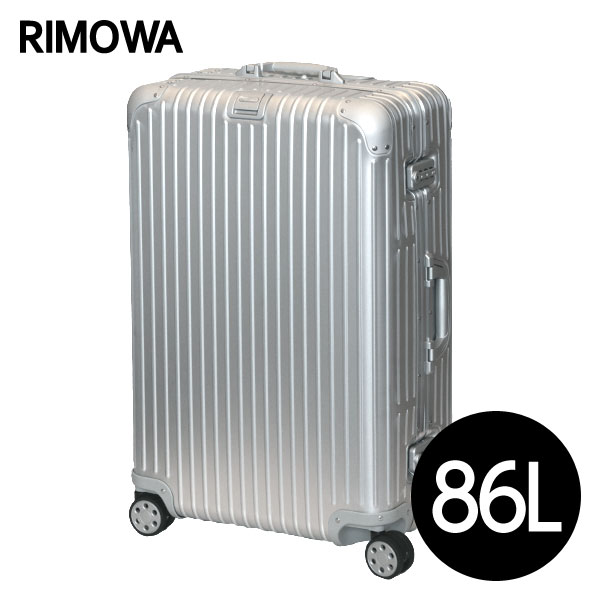 リモワ RIMOWA トパーズ 86L シルバー TOPAS スーツケース 924.70.00.4【送料無料(一部地域除く)】