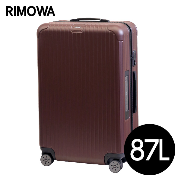 リモワ RIMOWA サルサ 87L カルモナレッド E-Tag SALSA ELECTRONIC TAG マルチホイール スーツケース 811.73.14.5【送料無料(一部地域除く)】