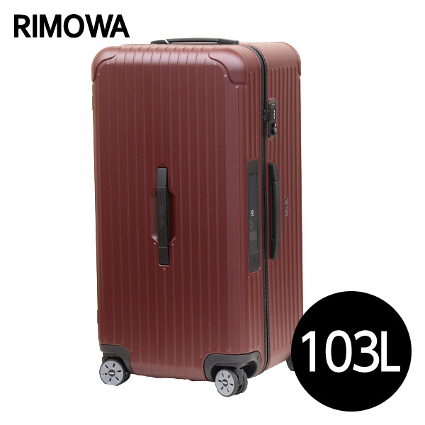 リモワ RIMOWA サルサ 103L カルモナレッド E-Tag SALSA ELECTRONIC TAG マルチホイール スーツケース 811.80.14.5【送料無料(一部地域除く)】