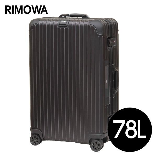 リモワ RIMOWA トパーズ ステルス 78L E-Tag TOPAS ELECTRONIC TAG マルチホイール スーツケース 924.70.01.5【送料無料(一部地域除く)】