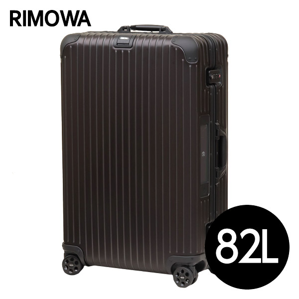 リモワ RIMOWA トパーズ ステルス 82L E-Tag TOPAS ELECTRONIC TAG マルチホイール スーツケース 924.73.01.5【送料無料(一部地域除く)】
