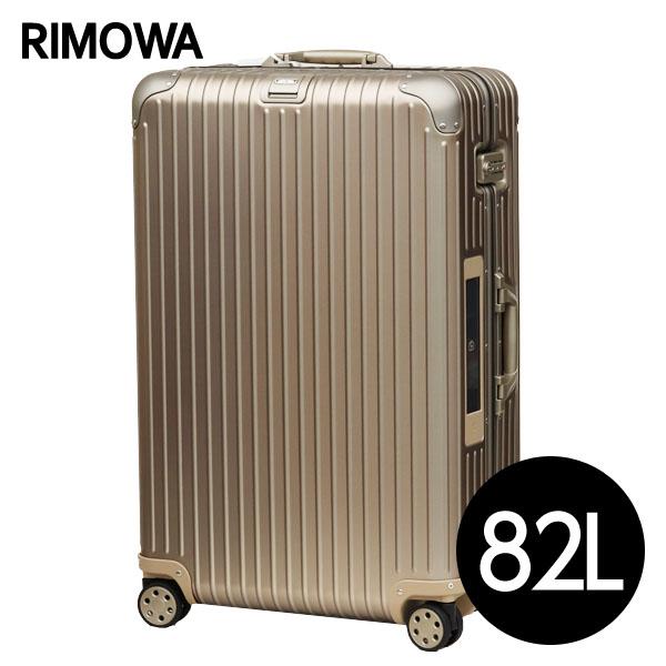 リモワ RIMOWA トパーズ チタニウム 82L E-Tag TOPAS ELECTRONIC TAG マルチホイール スーツケース 924.73.03.5【送料無料(一部地域除く)】
