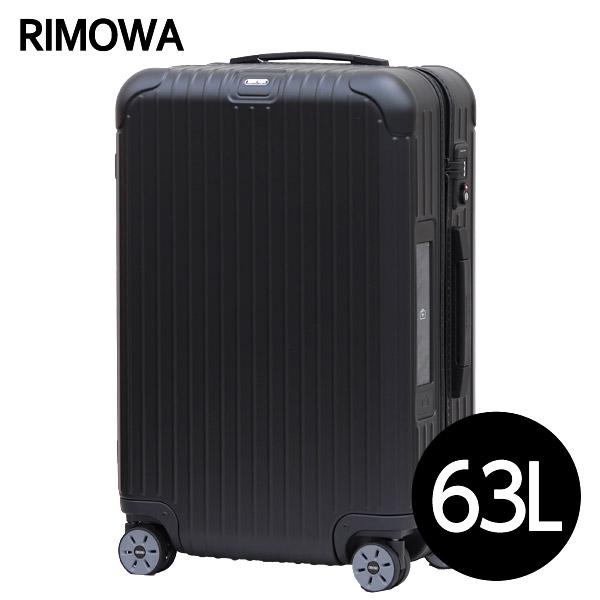 リモワ RIMOWA サルサ 63L マットブラック E-Tag SALSA ELECTRONIC TAG マルチホイール スーツケース 811.63.32.5【送料無料(一部地域除く)】