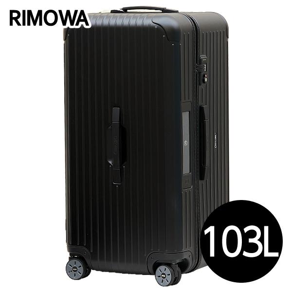 リモワ RIMOWA サルサ スポーツ 103L マットブラック E-Tag SALSA ELECTRONIC TAG スポーツ マルチホイール スーツケース 811.80.32.5 【送料無料(一部地域除く)】