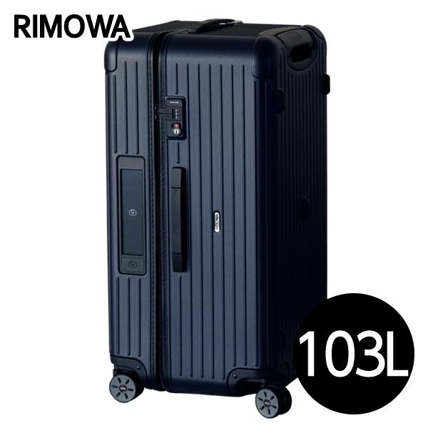 リモワ RIMOWA サルサ 103L マットブルー E-Tag SALSA ELECTRONIC TAG スポーツ マルチホイール スーツケース 811.80.39.5 【送料無料(一部地域除く)】