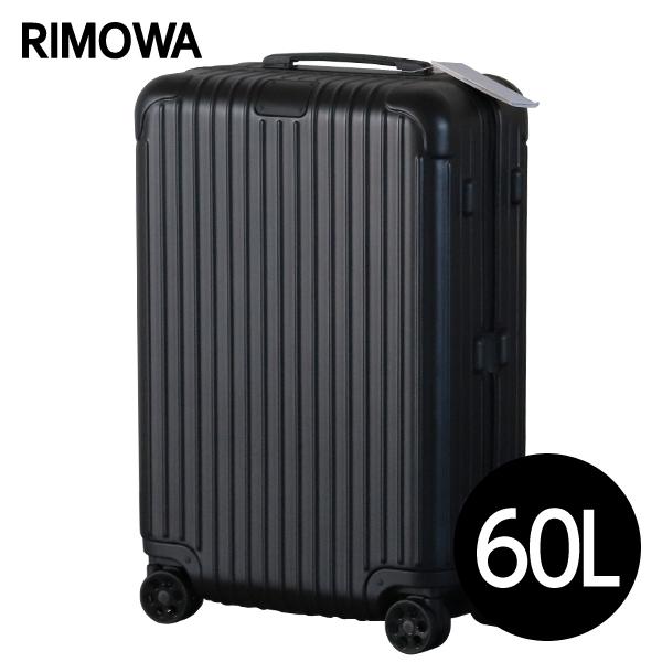 リモワ RIMOWA エッセンシャル チェックインM 60L マットブラック ESSENTIAL Check-In M スーツケース 832.63.63.4 【送料無料(一部地域除く)】
