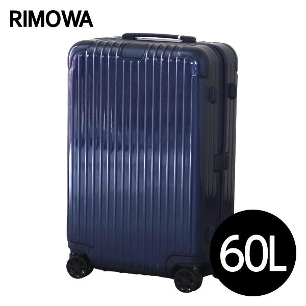 リモワ RIMOWA エッセンシャル チェックインM 60L グロスブルー ESSENTIAL Check-In M スーツケース 832.63.60.4 【送料無料(一部地域除く)】
