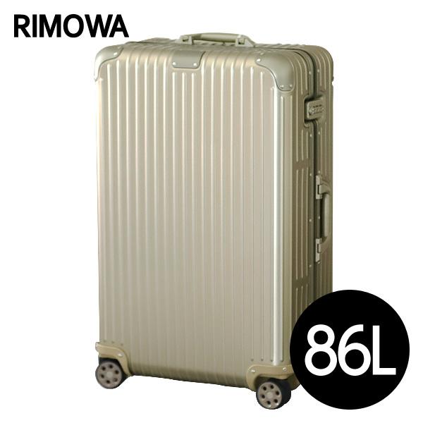 リモワ RIMOWA オリジナル チェックインL 86L チタニウム ORIGINAL Check-In L スーツケース 925.73.03.4 【送料無料(一部地域除く)】