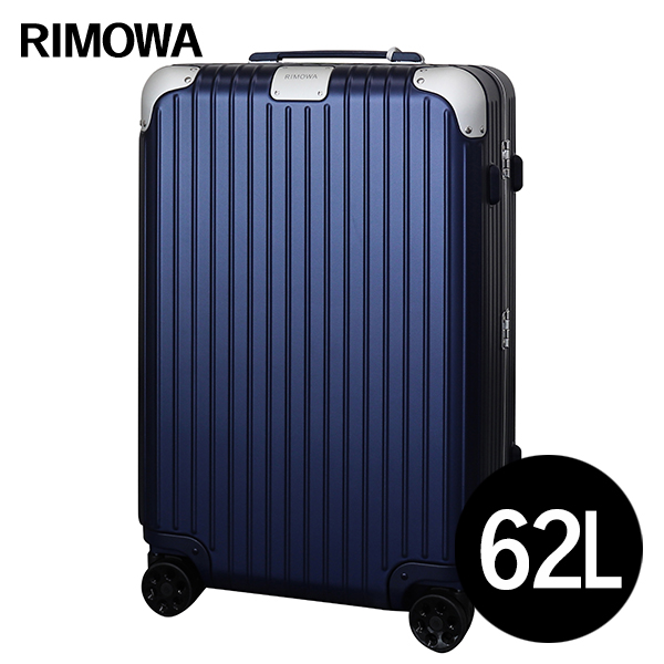 リモワ RIMOWA ハイブリッド チェックインM 62L マットブルー HYBRID Check-In M スーツケース 883.63.61.4『送料無料(一部地域除く)』
