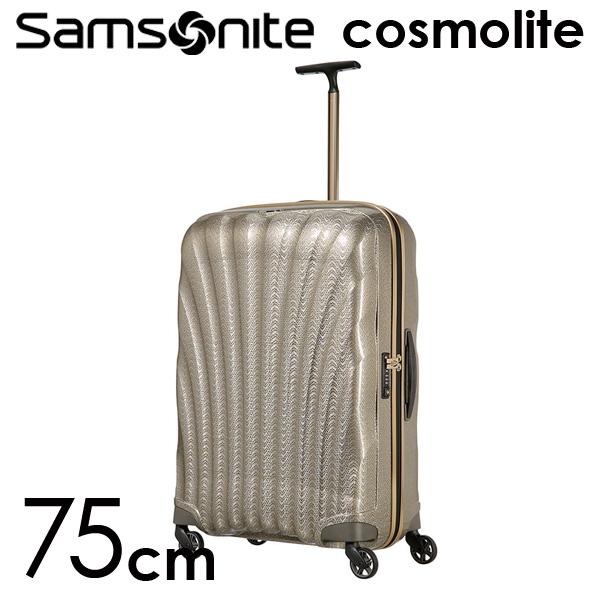 サムソナイト コスモライト3.0 スピナー 75cm ゴールドシルバー Samsonite Cosmolite 3.0 Spinner 105124-6719 94L【送料無料(一部地域除く)】