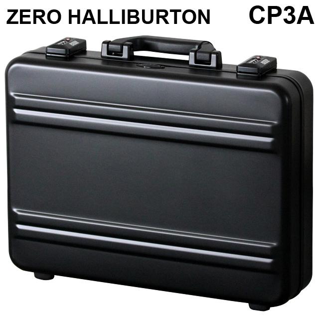 ゼロハリバートン ZERO HALLIBURTON Pシリーズ プレミアシリーズ2 アタッシュケース ブラック A3対応 94331 CP3A-BK 【送料無料(一部地域除く)】