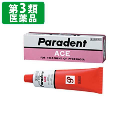 パラデントエース 40g ヒノキチオールを主成分とする 歯肉炎 誕生日 お祝い 歯槽膿漏薬 第三類医薬品 医薬品 口中薬 第3類医薬品 口中 ゲル 最安値 歯周病