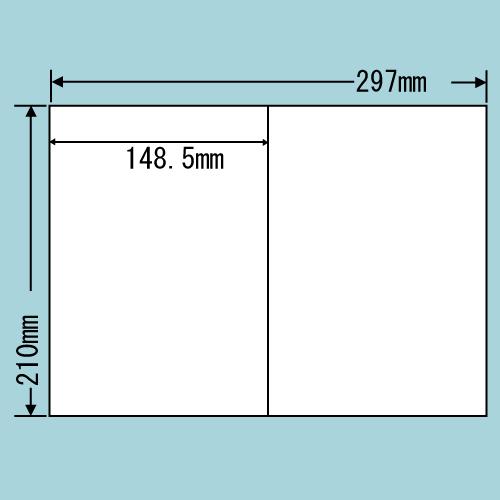 ラベルシール 東洋印刷 C2iF 再剥離タイプ A4 100シート×5箱【代引不可】【送料無料(一部地域除く)】