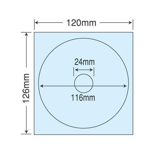 ラベルシール PFH-3 保護フィルム CD-R・DVD-R 400シート【代引不可】【送料無料(一部地域除く)】