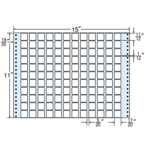 ラベルシール MX15S タックシール (連続ラベル) レギュラータイプ 500折【代引不可】【送料無料(一部地域除く)】