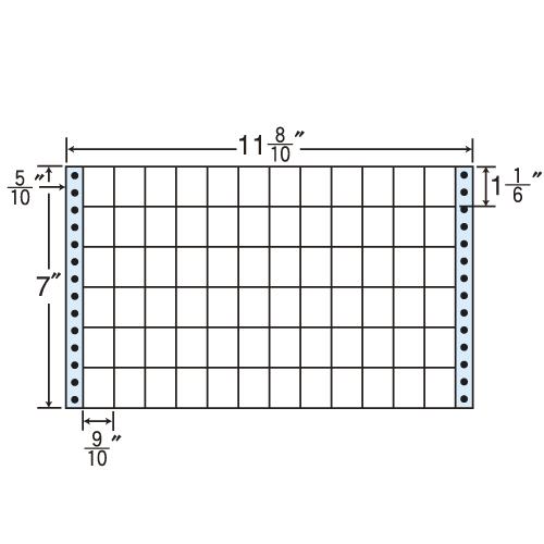 ラベルシール M11H タックシール (連続ラベル) レギュラータイプ 500折×2【代引不可】【送料無料(一部地域除く)】