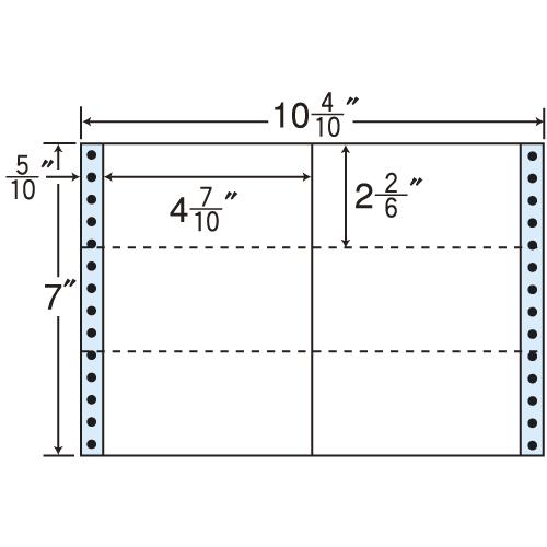 ラベルシール MX10 i タックシール (連続ラベル) レギュラータイプ 500折×2【代引不可】【送料無料(一部地域除く)】