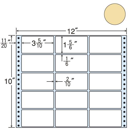ラベルシール 東洋印刷 M11BPP タックシール (連続ラベル) カラータイプピンク 500折【代引不可】【送料無料(一部地域除く)】
