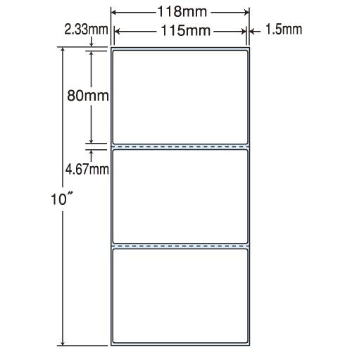 ラベルシール 東洋印刷 TM-4C PDCタイプヨコ【代引不可】【送料無料(一部地域除く)】