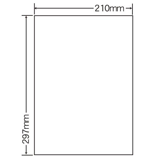 ラベルシール 東洋印刷 SCL-7 カラーレーザー用光沢 A4 400シート【代引不可】【送料無料(一部地域除く)】