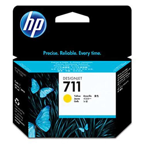 hp HP711 インクカートリッジ イエロー(29ml×3個) CZ136A 純正品 【送料無料(一部地域除く)】