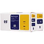 HP81(C4993A)バリューパック イエロー 純正品 インクカートリッジ 【代引不可】【送料無料(一部地域除く)】