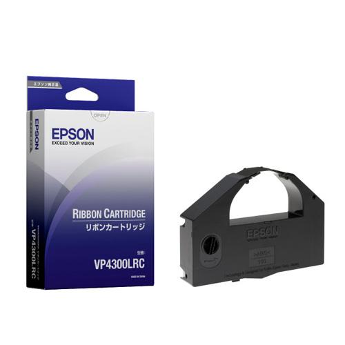 EPSON VP4300LRC カセットリボン 黒 純正品 2本セット 【代引不可】【送料無料(一部地域除く)】