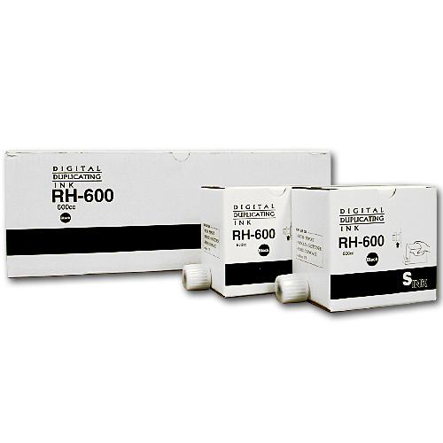 軽印刷機対応インク RH-600 黒 20本セット【送料無料(一部地域除く)】