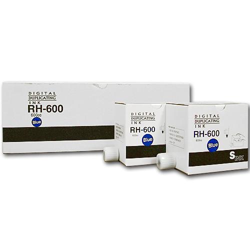 軽印刷機対応インク RH-600 青 20本セット 【代引不可】【送料無料(一部地域除く)】