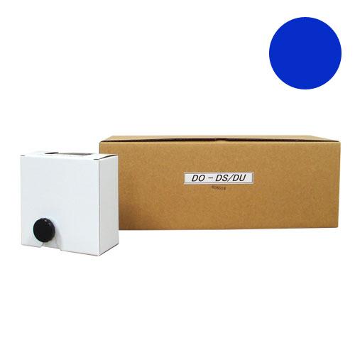 軽印刷機対応インク DO-DS/DU 青 6本セット 汎用品 【代引不可】【送料無料(一部地域除く)】