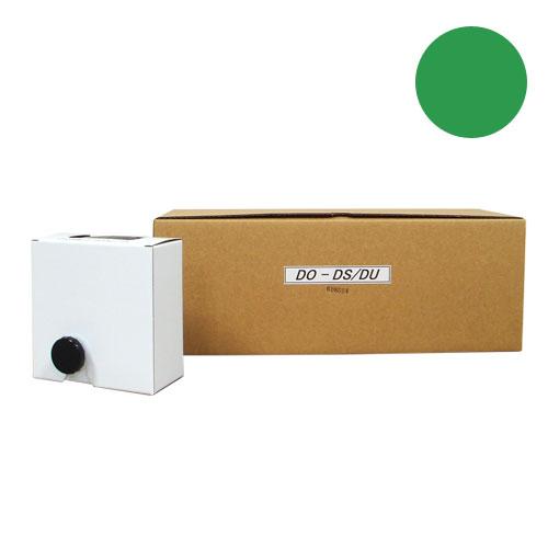 軽印刷機対応インク DO-DS/DU 緑 6本セット 汎用品 【代引不可】【送料無料(一部地域除く)】