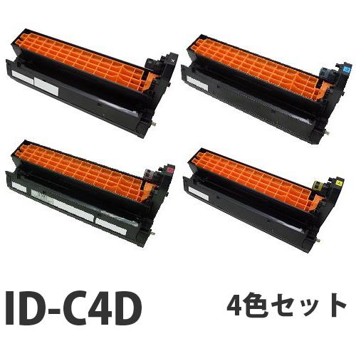 OKI ID-C4D リサイクル ドラム 4色セット【送料無料(一部地域除く)】