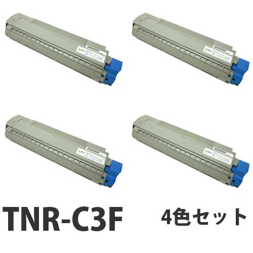 OKI TNR-C3F リサイクル トナーカートリッジ 4色セット【送料無料(一部地域除く)】