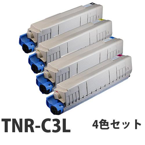 OKI TNR-C3L リサイクル トナーカートリッジ 4色セット【送料無料(一部地域除く)】