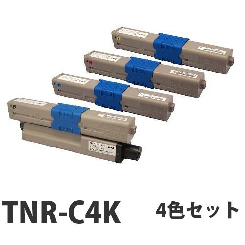 OKI TNR-C4K リサイクル トナーカートリッジ 4色セット【送料無料(一部地域除く)】