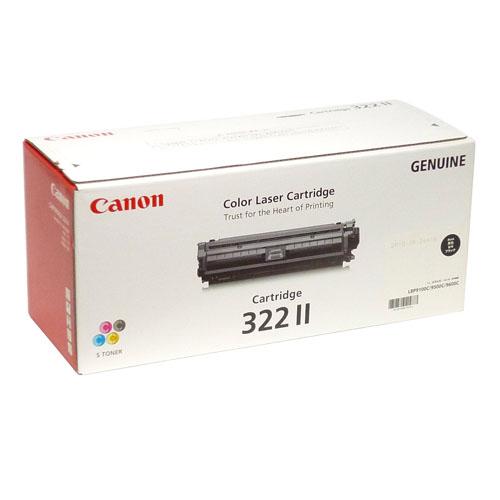 CRG-322II ブラック 輸入品 Canon キヤノン【代引不可】【送料無料(一部地域除く)】