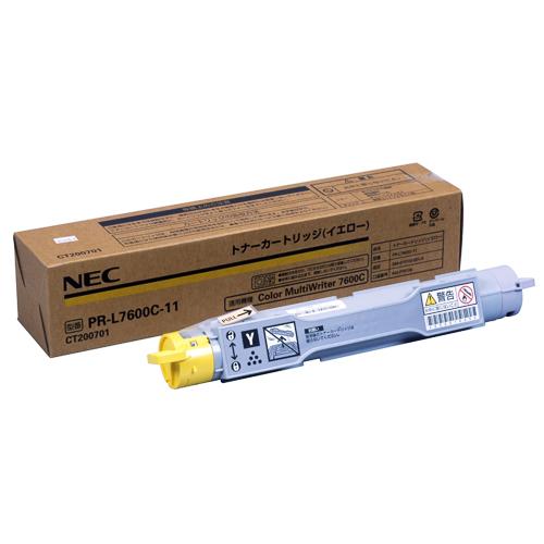 PR-L7600C-11 イエロー 純正品 NEC【代引不可】【送料無料(一部地域除く)】